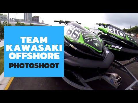 Team Kawasaki GoPro Offshore Photoshoot