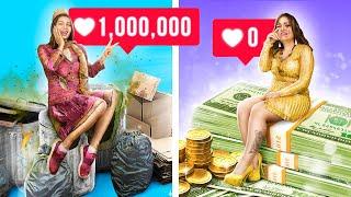 Богатая непопулярная vs бедная популярная / Смешные ситуации в колледже