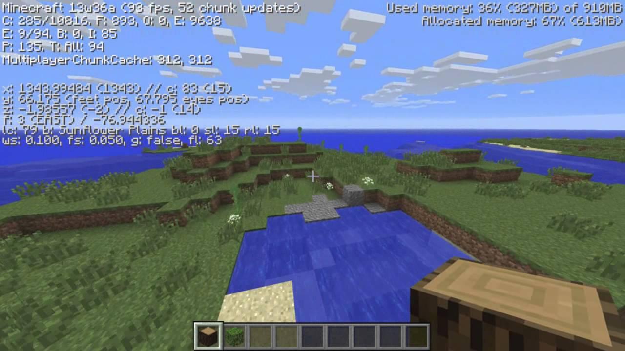 Minecraft Snapshot 13w36a New Biomes Savannah Stone