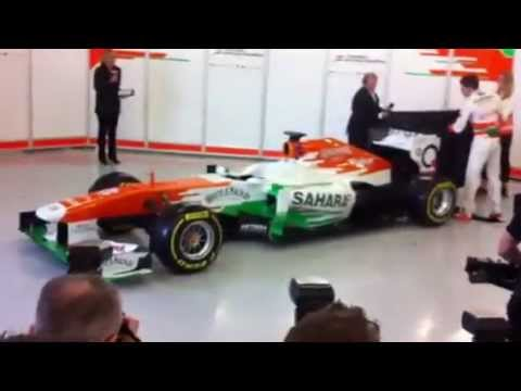 force india f1 2013 launch pole position youtube. Black Bedroom Furniture Sets. Home Design Ideas