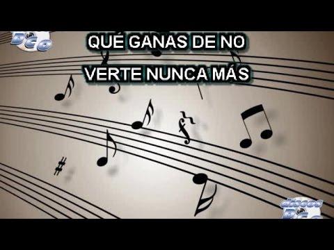 Karaoke Canta como Jenny Rivera - QUE GANAS DE NO VERTE NUNCA MAS