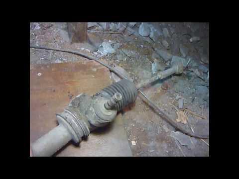 """""""ОКА"""" ВАЗ-11113-40  демонтаж рулевой рейки."""