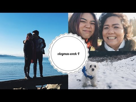 Vlogmas #4 🎄 Korean Drama Goblin & Christmas in Seattle!