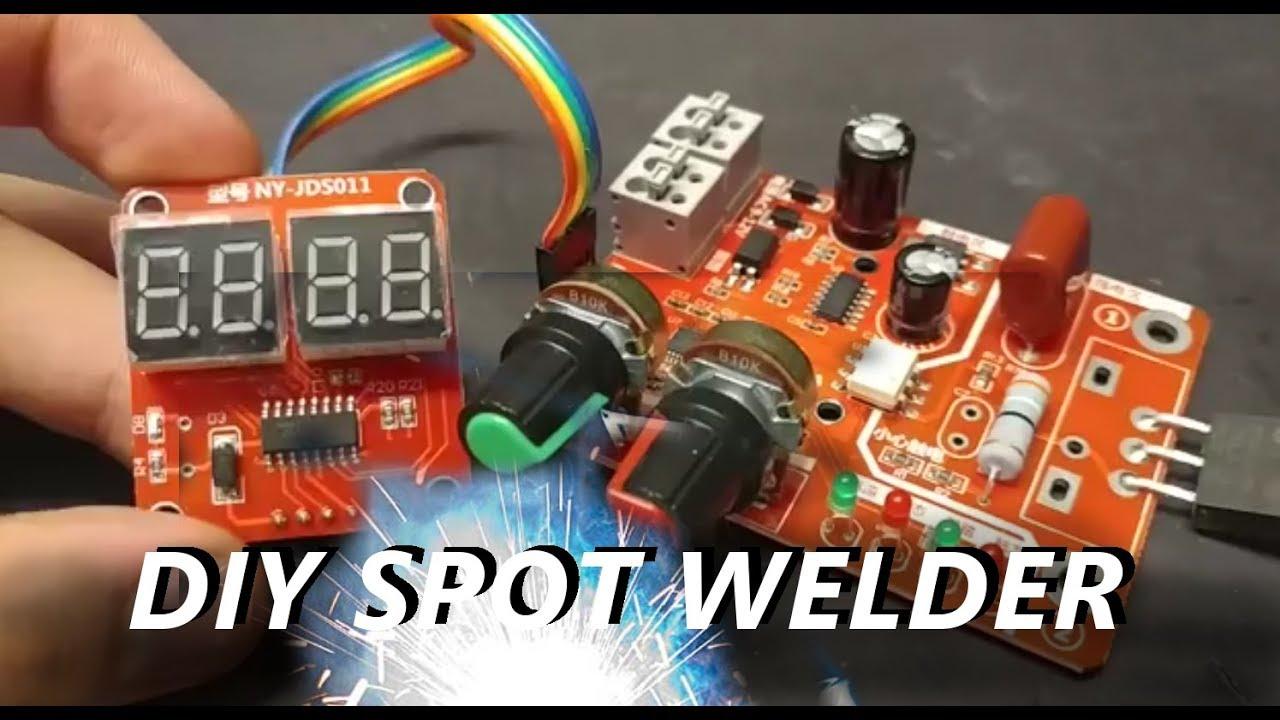 another aliexpress diy spot welder controller review available  [ 1280 x 720 Pixel ]