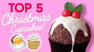 TOP 5 Christmas Cupcakes Compilation- The Scran Line
