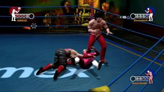 aaa heroes del ring story mode technicos ps3 ch 03