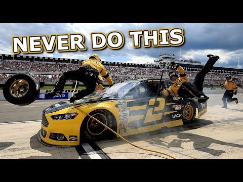 Top 5 things NOT to do in NASCAR