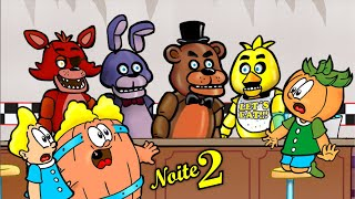Download FNAF Noite 2 - O Porão da Pizzaria - Barril, Rafa e Cabeção e Five Nights At Freddy's