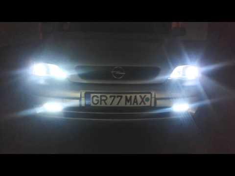 Lupe Bixenon Opel Astra G.mp4