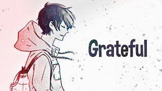 Download Nightcore - Grateful (Lyrics)