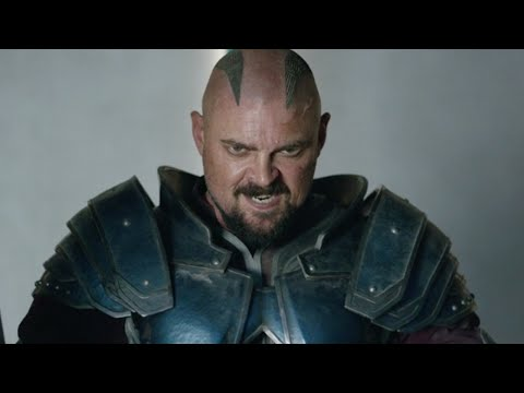 Yes, Skurge Has His Bloodaxe in Thor: Ragnarok - Karl Urban Interview - Comic-Con 2017