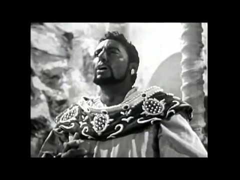 Verdi   Otello   del Monaco, Carteri, Capecci  Tullio Serafin 1958