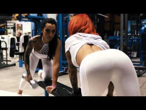Спортивные девушки. Фитоняшки 18+ / Female Fitness Motivation 18+