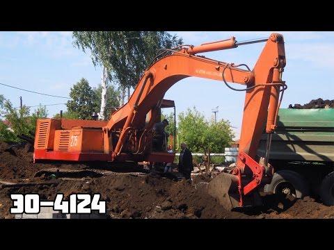 Гусеничный экскаватор ЭО-4124