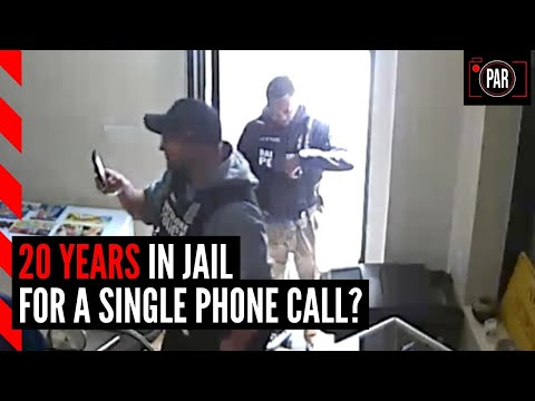 The feds want him to spend 20 years in jail for a single phone call, but the case is falling apart
