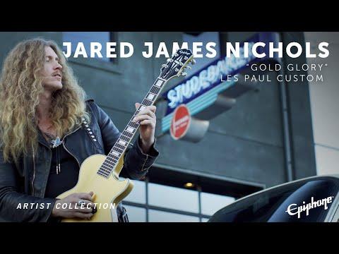 "Epiphone | Jared James Nichols ""Gold Glory"" Les Paul Custom"