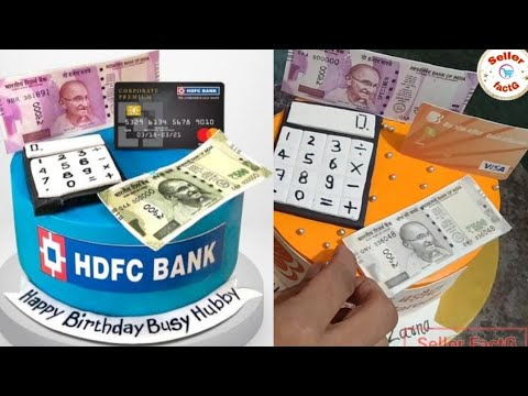 Cake For Banker | Bank Cake | Bank Of Baroda Cake
