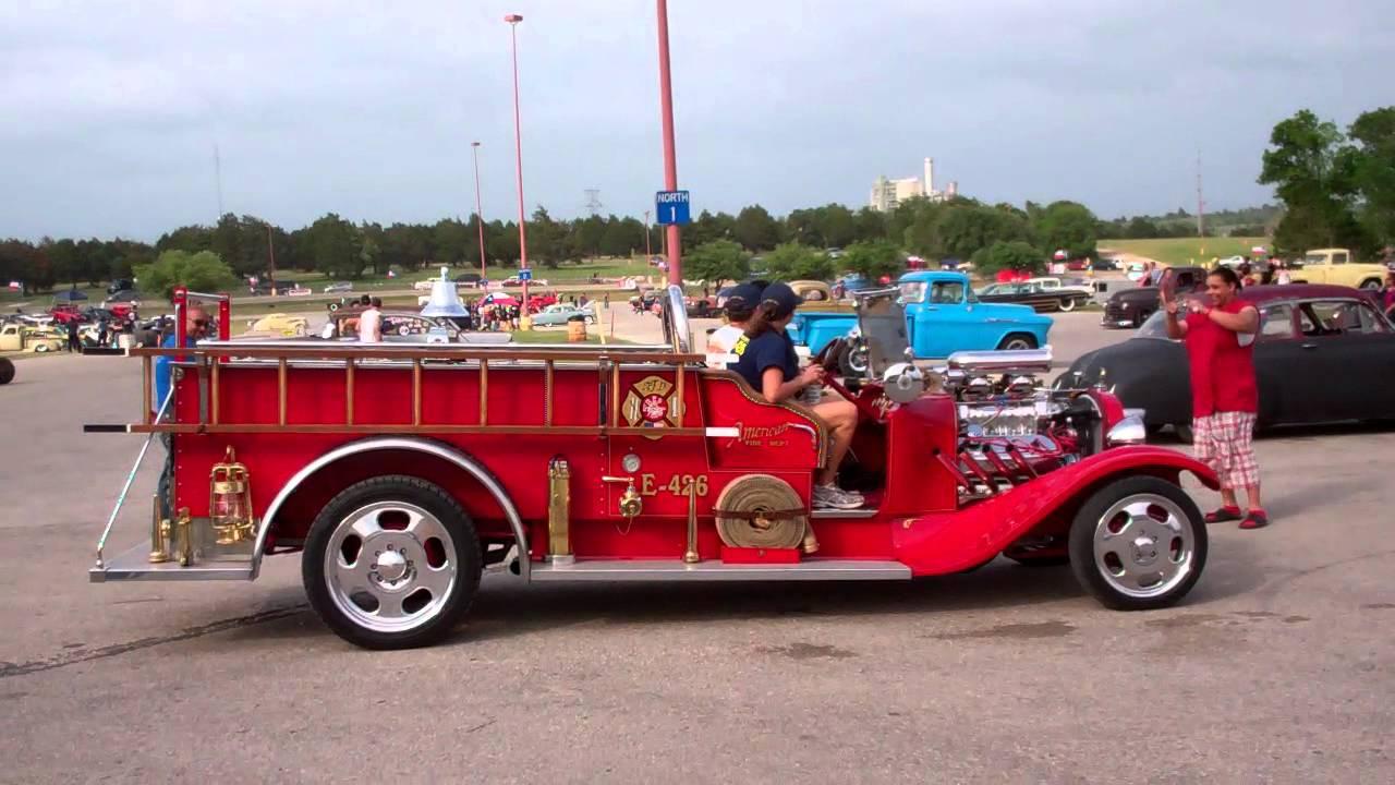 Hot Rod Fire Truck - YouTube