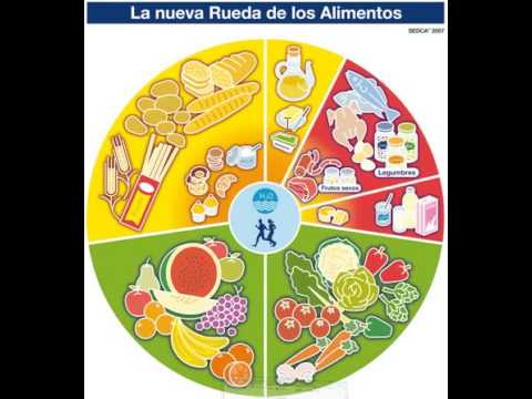 Rueda de los alimentos youtube - Piramide alimentaria para ninos ...