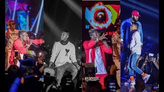 Wizkid And Shatta Wale Joint Performance At 2018 Ghana Meets Naija Concert