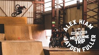 Travel Life - Alex Hiam & Jayden Fuller in Melbourne - Behind the scenes