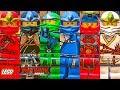 TODOS OS NINJAS CLÁSSICOS em The LEGO NINJAGO Movie Video Game