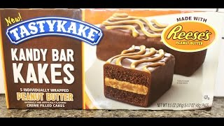 Tastykake: Kandy Bar Kakes Peanut Butter Review