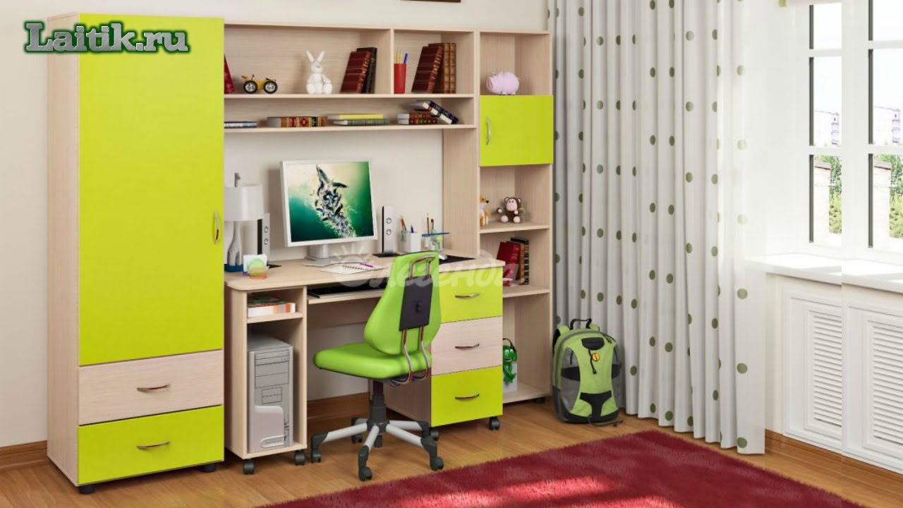 детская мебель легенда комната уголок школьника легенда 4