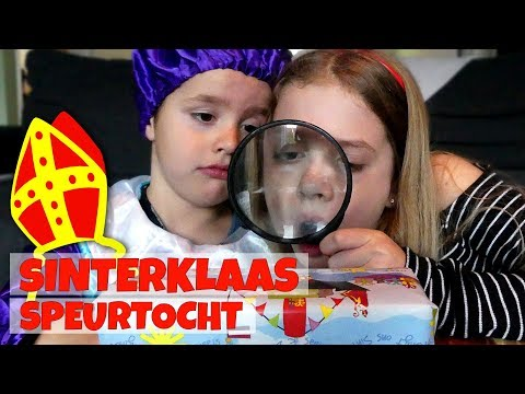 SINTERKLAAS CADEAU SPEURTOCHT!! - Broer en Zus TV VLOG #245