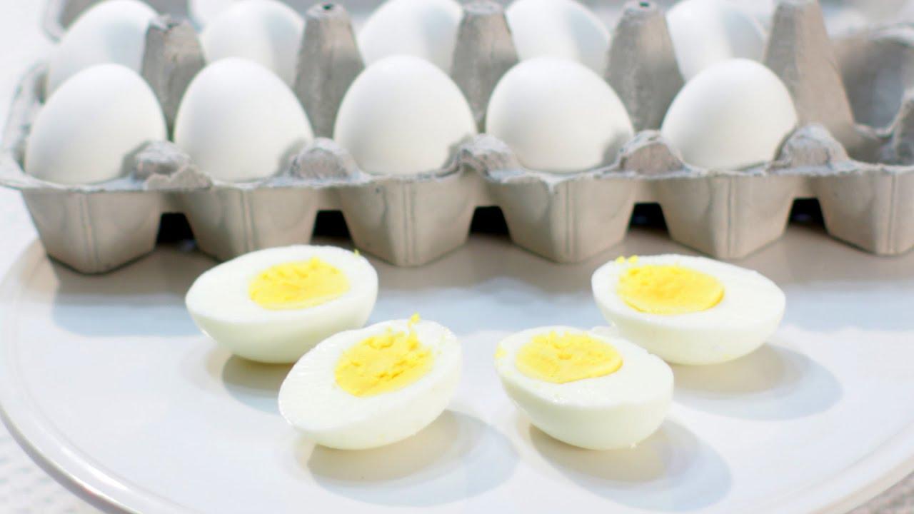 How to make Hard Boiled Eggs - Easy Video Demonstration - YouTube