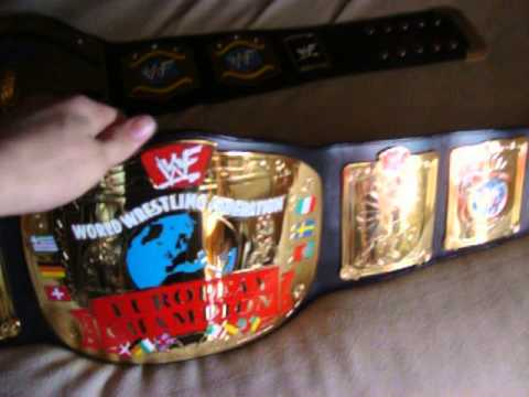 wwf european and light heavyweight belt review youtube