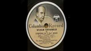 Furtwängler_ Beethoven ; Symphony No.5 c-moll op.67- 1st mov.(1937)