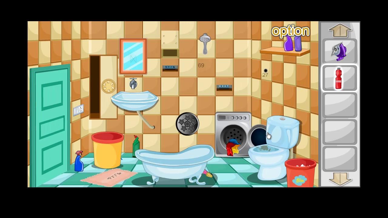 Escape Bathroom Level 3 escape games-bathroom level 11 walkthrough - youtube