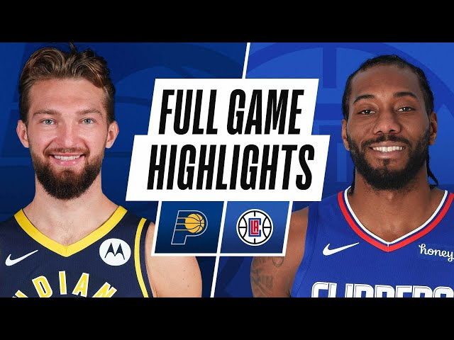 PACERS at CLIPPERS | FULL GAME HIGHLIGHTS | January 17, 2021