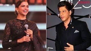 Shah Rukh Khan's Warm Gesture Towards Deepika Padukone Post Zee 25 Years Party