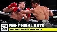 HIGHLIGHTS | Josh Brueckner Pro-Debut vs. Tyler Smith