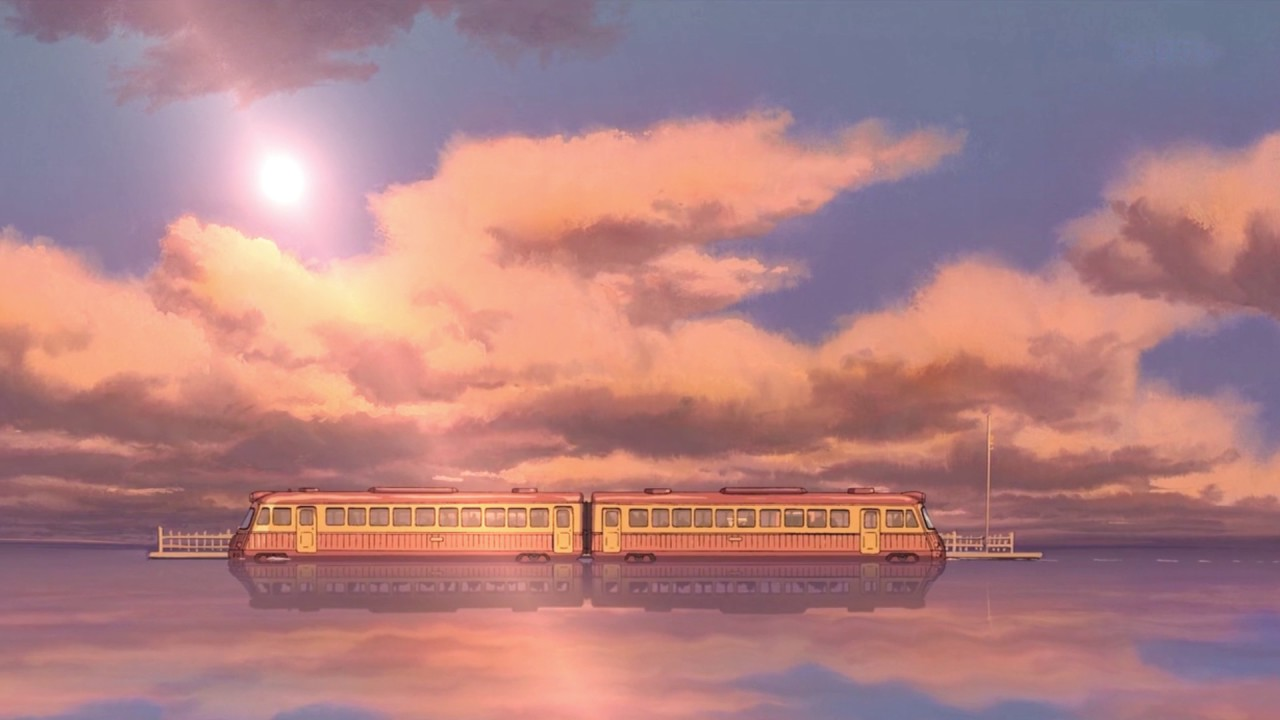 Spirited Away Train For Wallpaper Engine Youtube