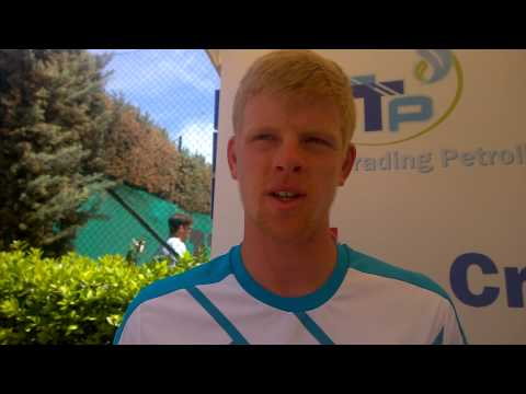 Interview with Kyle Edmund at Garden 2015