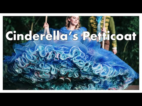 I Made Cinderella's Petticoat | Huge, Fluffy & Multi-Layered