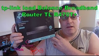 tp-link load Balance Broadband Router TL R470T+