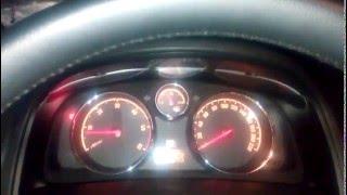 Opel Antara. Как узнать температуру двигателя?