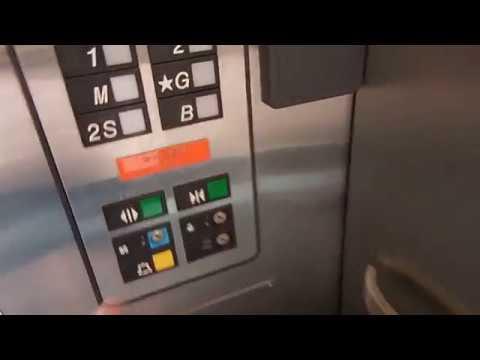 Otis Parking Garage Elevator at the Sticht Center in Wake Forest Baptist  Hospital, Winston Salem, NC