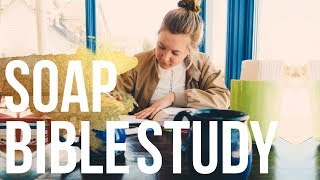 How to do the SOAP Bible Study Method   Easy & Simple Bible study