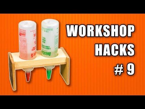 Workshop Life Hacks Episode 9: Woodworking Tips and Tricks