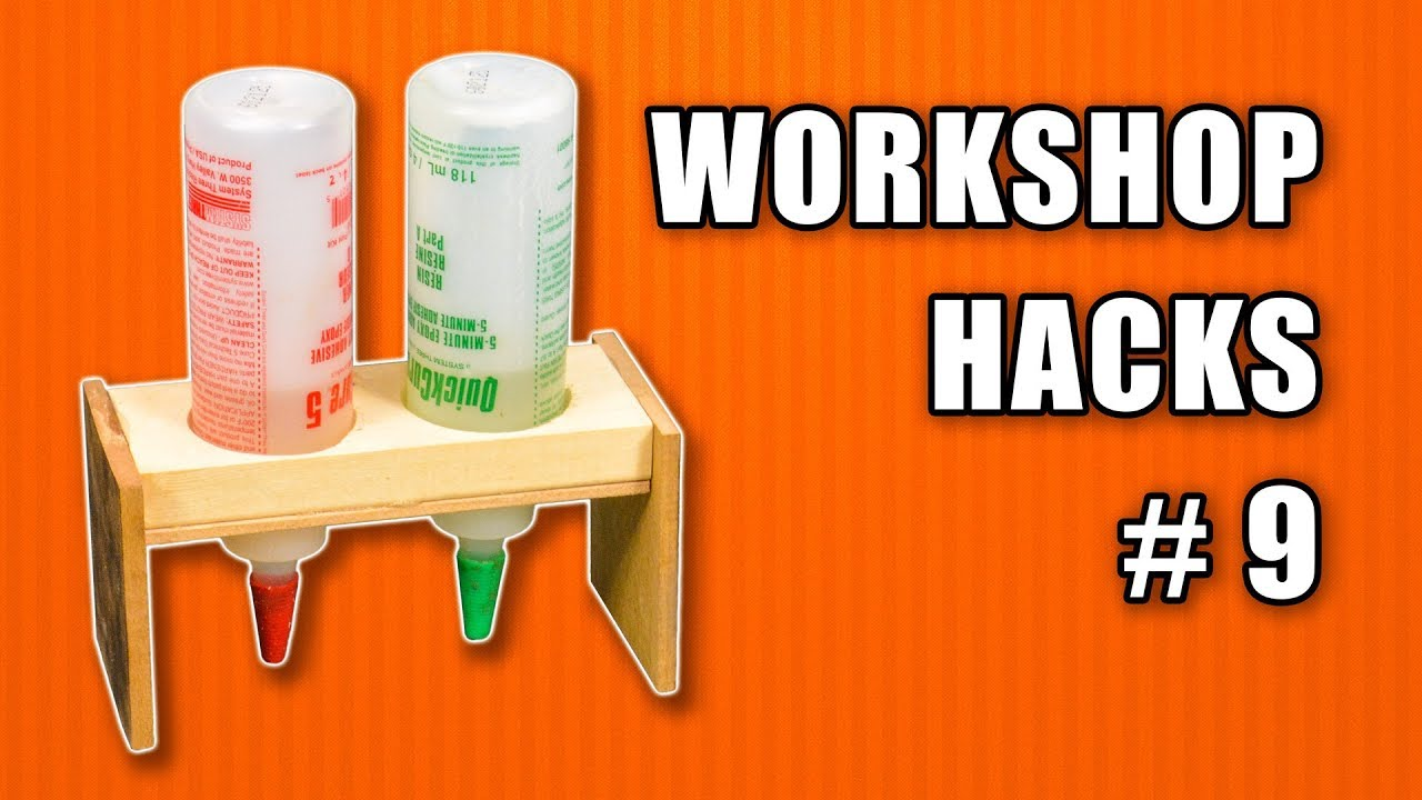 Workshop Life Hacks Episode 9: Woodworking Tips and Tricks