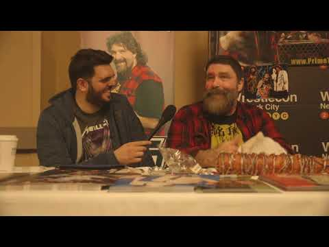 Mick Foley Explains How A WWE Match is Like A Metallica Concert | Metal Injection