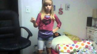 Moves Like Jaggar (cover) 10 Year Old Dancing