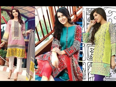 9fb4aa42a New Summer Lawn Collection 2017 For Girls in pakistan - YouTube
