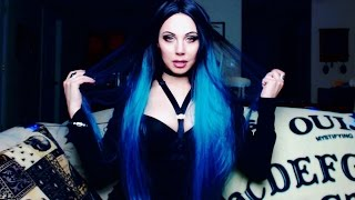 Unboxing my Gothic Wig with 90s Stories and Giveaway