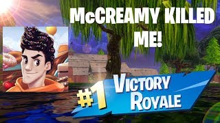 I WAS KILLED BY MCCREAMY IN FORTNITE! (BOTH POV'S)